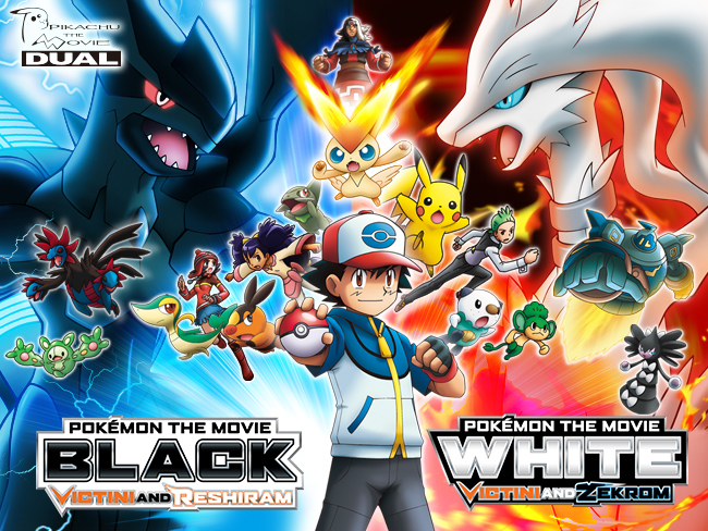 Pokemon The Movie White Victini And Zekrom Pokemon The Movie